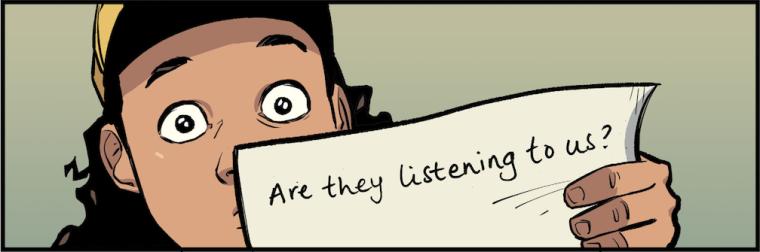 Batgirl listening