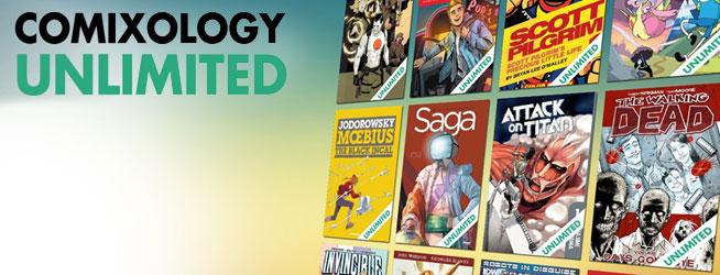 Comixology-Unlimited