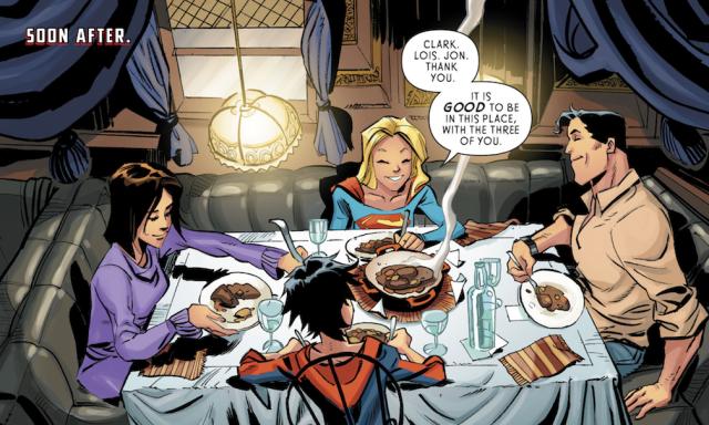 Supergirl Dinner