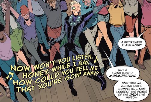 Batgirl Flash mob